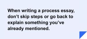 Process Essay Topics