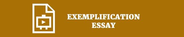 exemplefication-essay