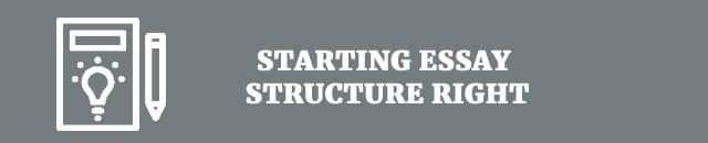 starting-essay-structure