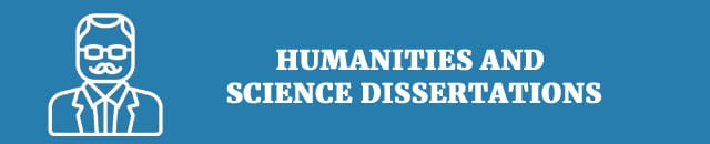 Humanities and science dissertations