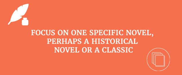 focus-on-specific-novel