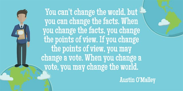 essay on change in the world changes for you 5 easy ways you can change the world  if you want to change the world, do not allow young people to use their voices, disallow them from becoming involved in civic life, and force them to.