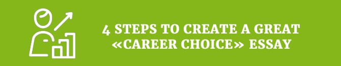 research paper on career choice