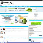 IWillStudy.com starting page