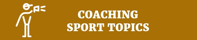 coaching sport topics speech