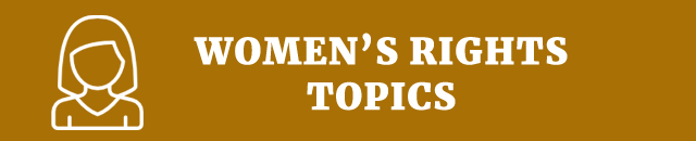 women's rights speech sport topics