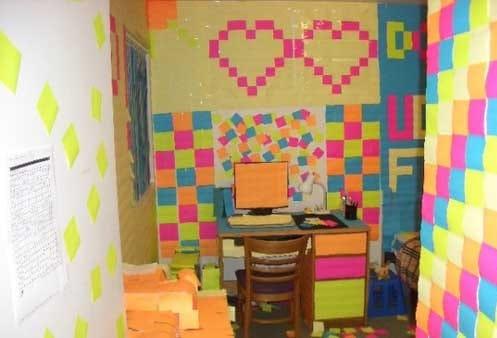 college pranks dorm