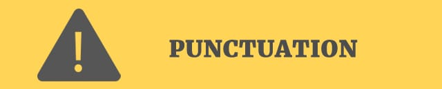 punctuation 50 point checklist