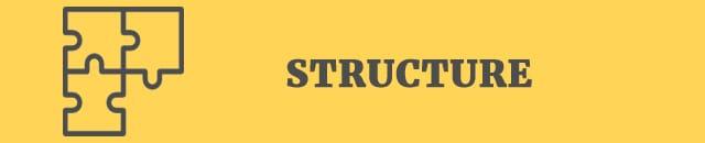 structure 50 point checklist