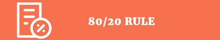 80 20 rule 2