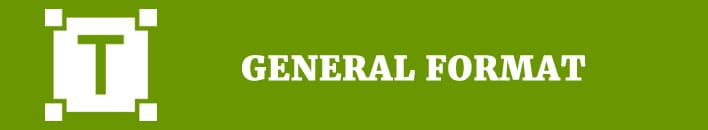 general format citation