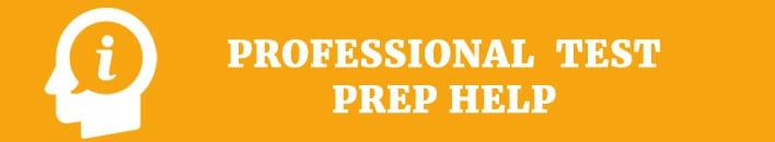 proffesional test prep help