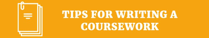 Tips for writing a coursework