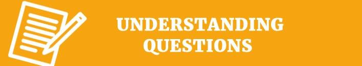 understanding test questions
