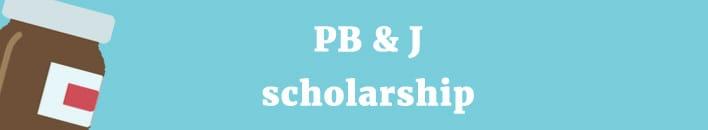 PB&J scholarship