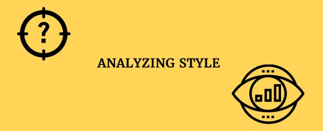Analyzing style