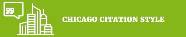 chicago citation style