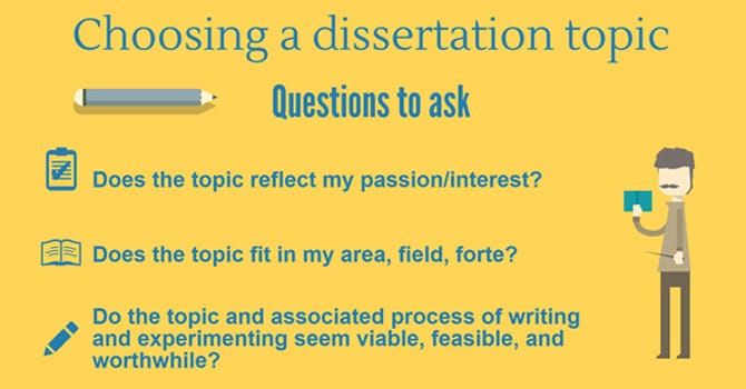 Dissertation Topic Ideas: List of 15 Practical Ideas