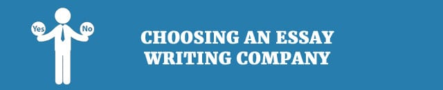 Reputable paper writing companies