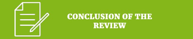conclusion of the review
