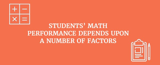 students math perfomance