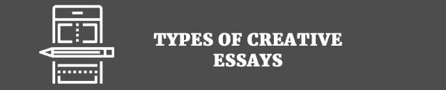 top tips to infuse your essays creative writing types of creative essay