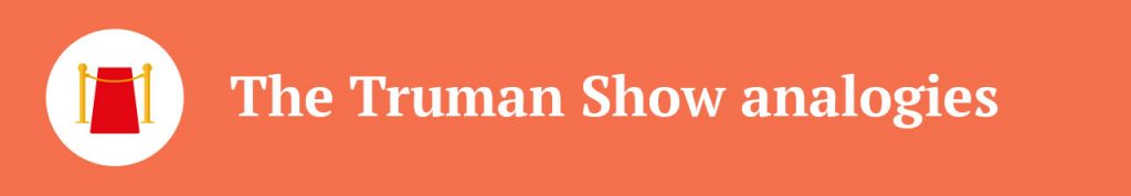 truman show film review essay College links college reviews college essays college articles report abuse home reviews movie reviews the truman show the truman show by aly l.