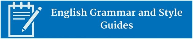 English style guides writing a check