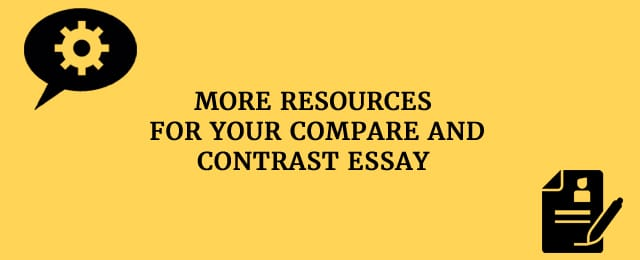 You can organize your compare-and-contrast essay