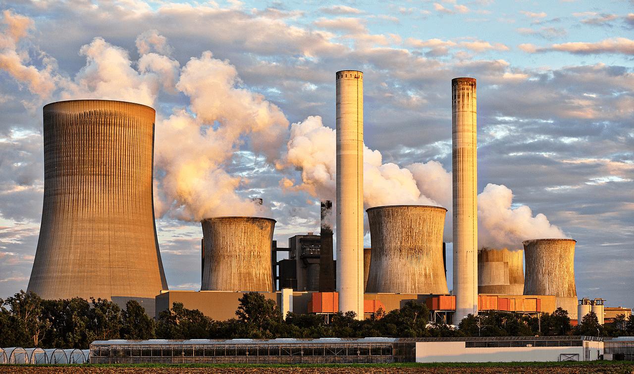 Old industrial powerplants