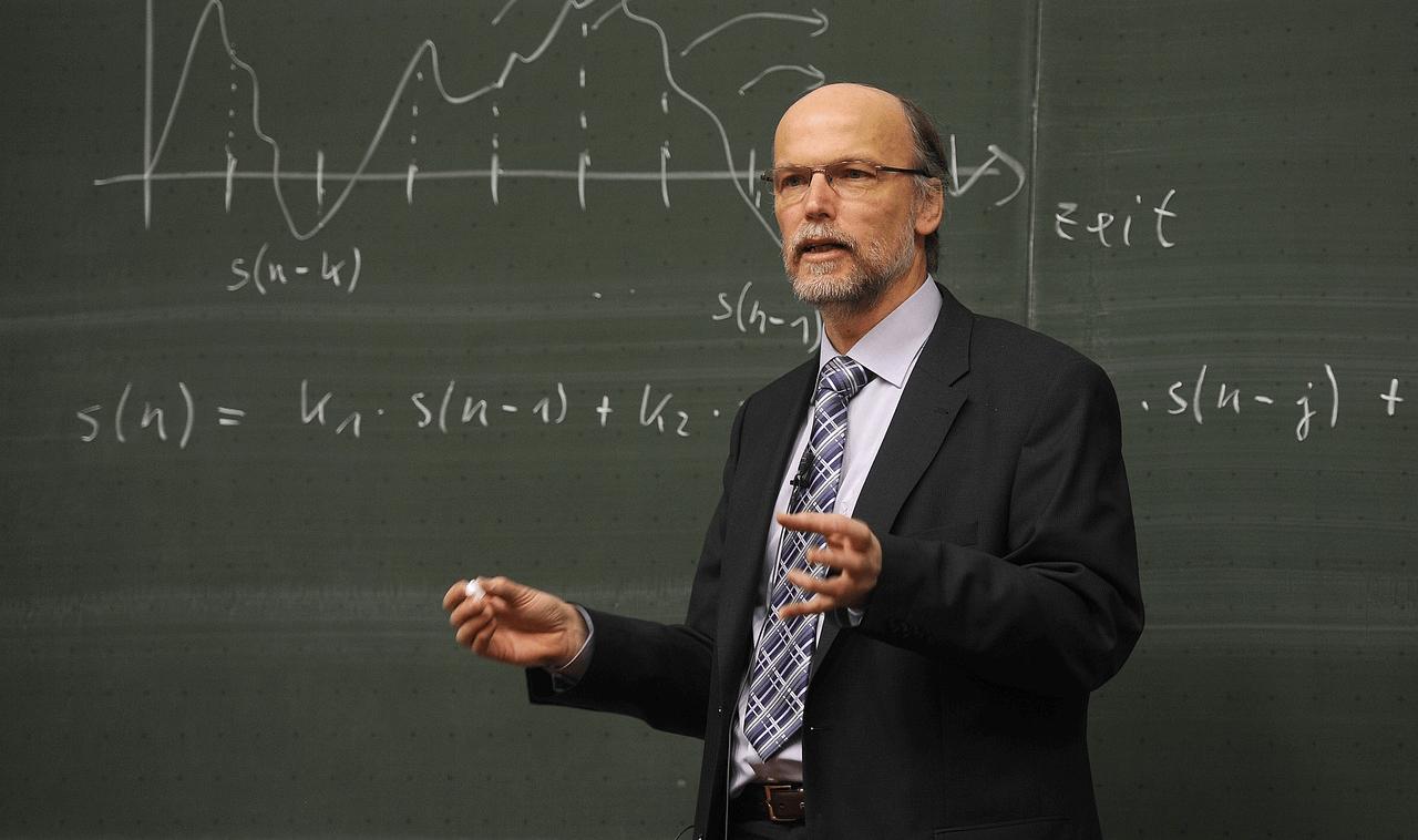 Professor at a university