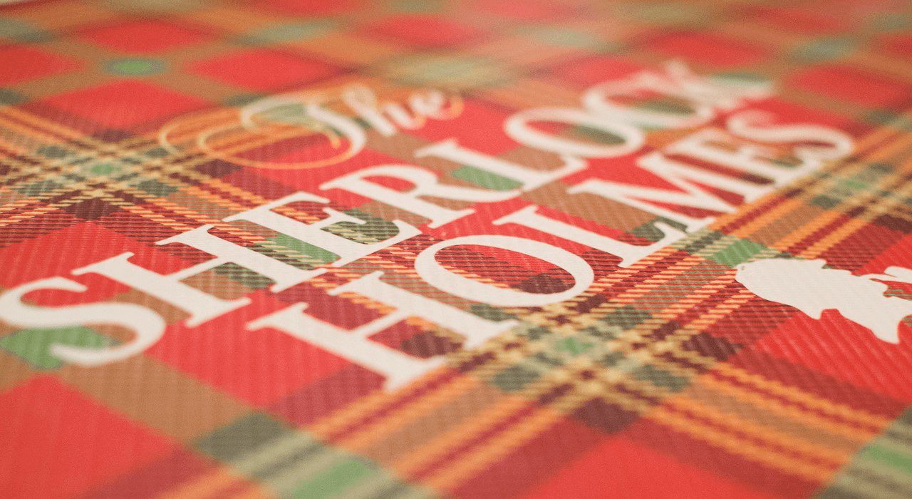 Sherlock holmes book pattern