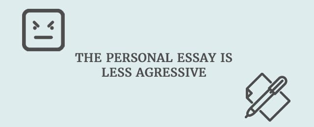 top tips to infuse your essays creative writing the personal essay is less agressive