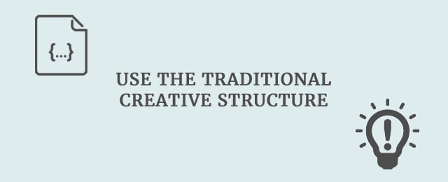top tips to infuse your essays creative writing use the traditional creative structure