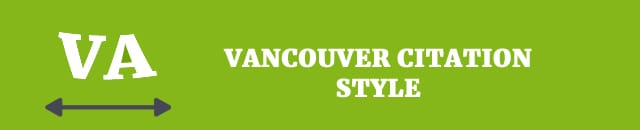 How to write a dissertation vancouver style reference