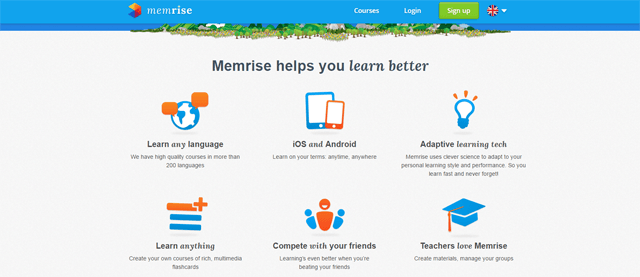 Memrise language learning