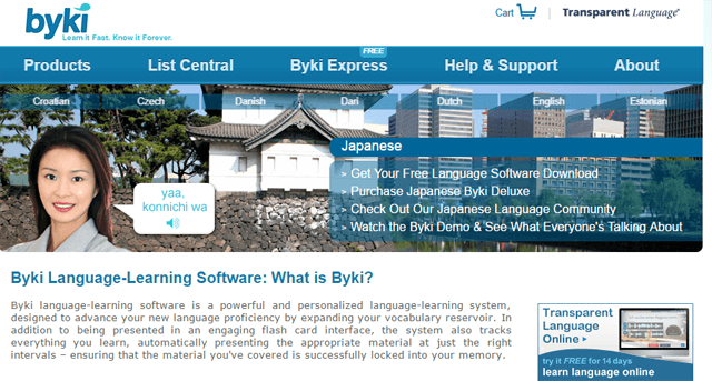 Byki Language Learning - What is Byki? - YouTube