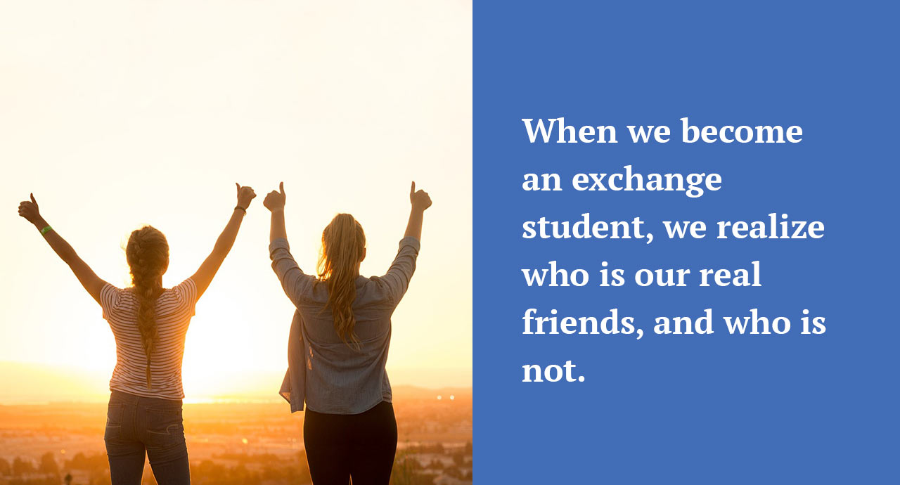 exchange student experiences essay