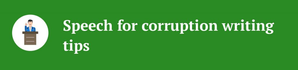 essay on corruption quick and easy guide and best ideas how to write a speech on corruption