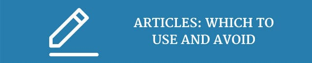 articles-which-to-use-and-avoid