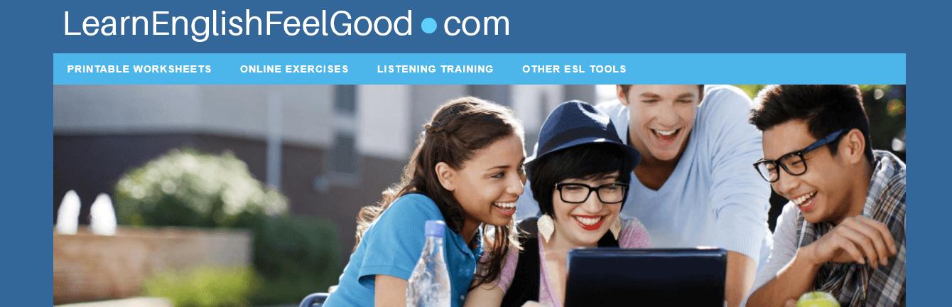 LearnEnglishFeelGood.com website