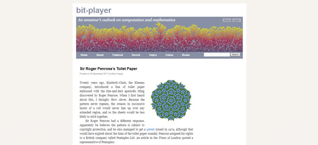 bit player blog